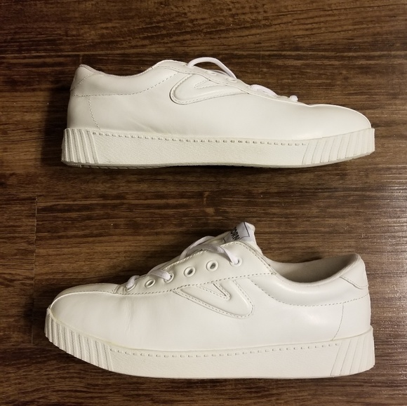 Classic Tretorn Leather Tennis Sneakers